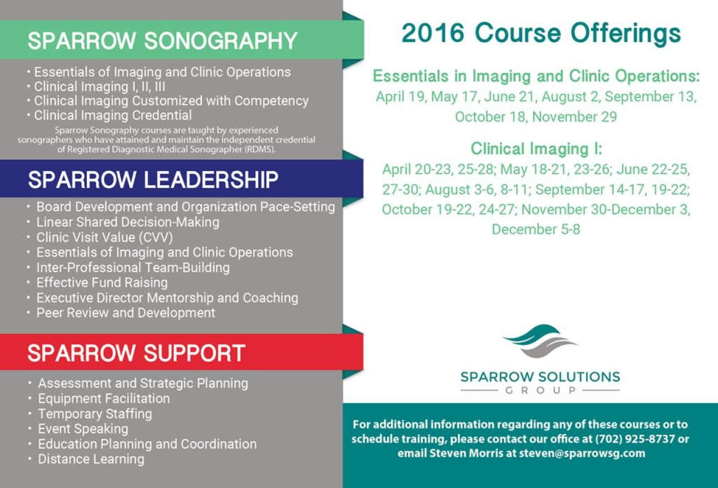 2016 Course Offerings