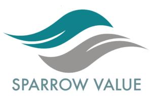 Sparrow logo Value copy